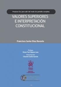 Valores superiores e interpretación constitucional