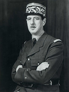General Charles de Gaulle in 1945