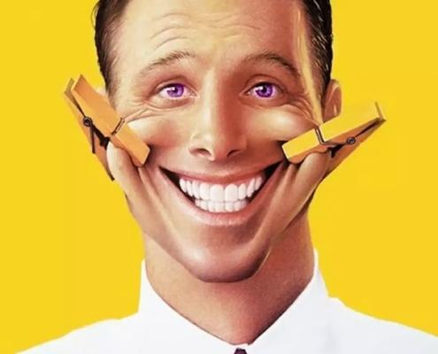 Esa sonrisa idiota